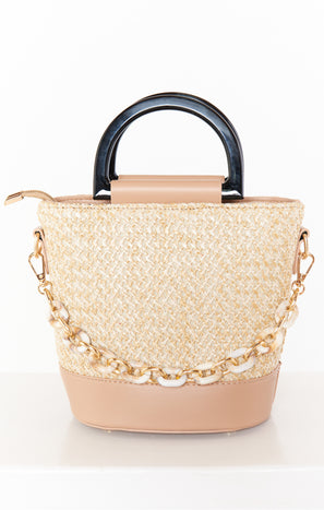 Calista Bucket Bag ~ Natural