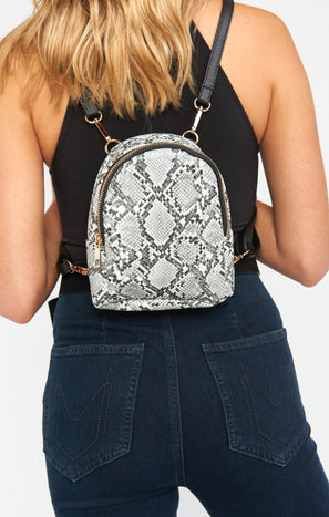 Flynn Mini Backpack ~ Snake
