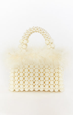 I Do Bag ~ Ivory Beaded