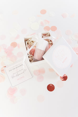 Bridesmaid Proposal Box ~ Dusty Blush