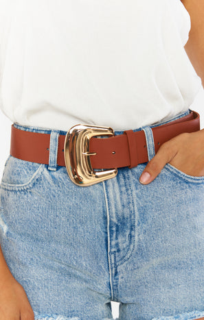 Tilly Belt ~ Brown