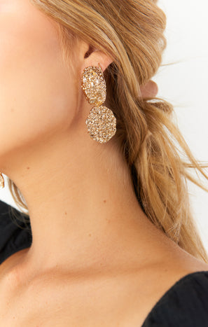 Ariana Earrings ~ Gold