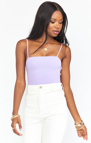 Amabella Bodysuit ~ Lilac Stretch