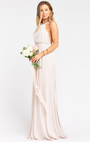 Amanda Maxi Dress ~ Show Me the Ring Crisp
