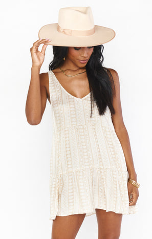 Emme Tank Dress ~ Beach Rider Stripe