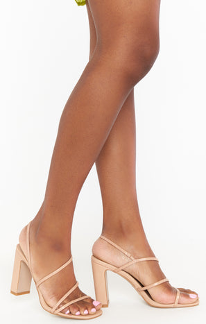 Billini Saint Heels ~ Blush Lizard