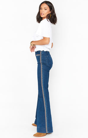 Farrah Trouser Flare ~ Sunset Strip