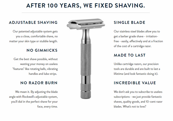 THE TOP 5 REASONS YOU SHOULD SHAVE WITH A SAFETY RAZOR