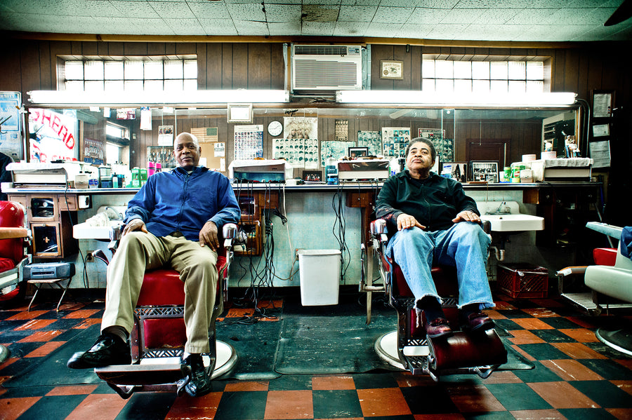 Barbershops of America - Then and Now