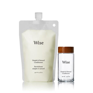Wise - Hemp Seed Conditioner (REUSABLE GLASS BOTTLE)