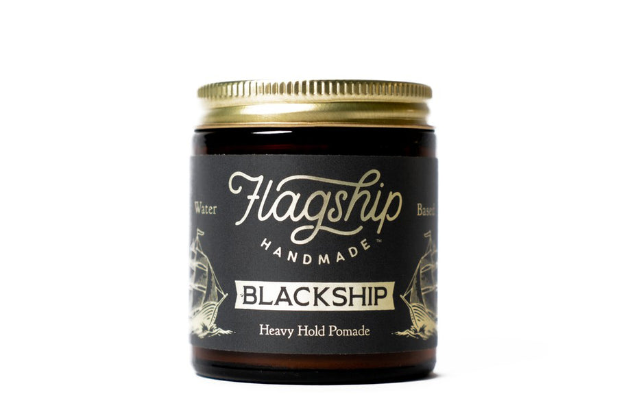 Flagship Black Ship Water Based Pomade (NEW FORMULA)