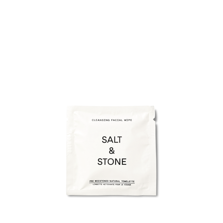 Salt & Stone - Cleansing Facial Wipes - 20 Pack