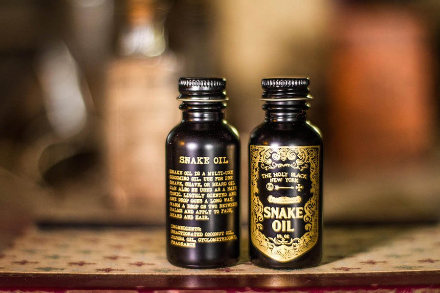 The Holy Black - Snake Oil