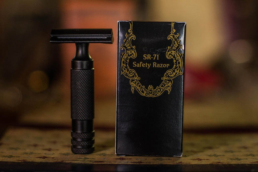 The Holy Black - SR-71 Guard Bar Safety Razor