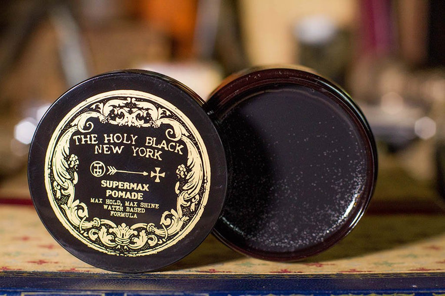 The Holy Black - Supermax Pomade - 4oz