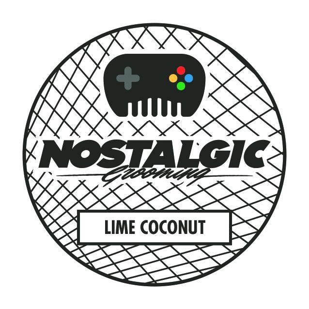 Nostalgic Grooming - Lime Coconut Summer Water Based Pomade