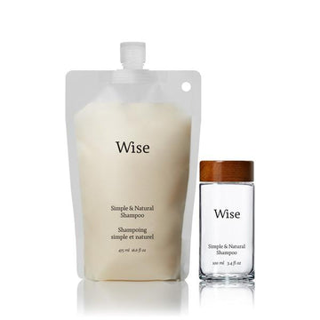 Wise - Birch Bark Daily Shampoo (Reusable Glass Bottle)