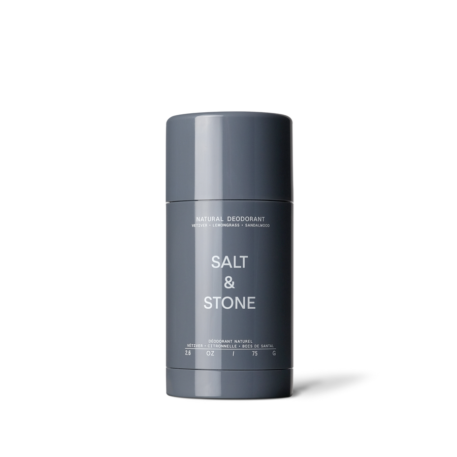 Salt & Stone - Natural Deodorant - Vetiver + Sandalwood