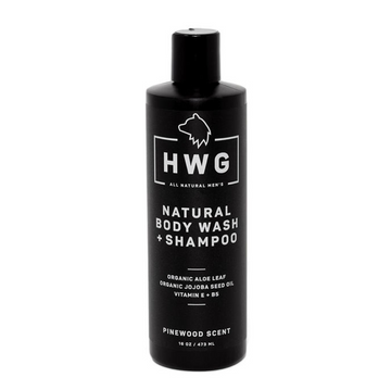 Hardworking Gentlemen Natural Body wash + Shampoo