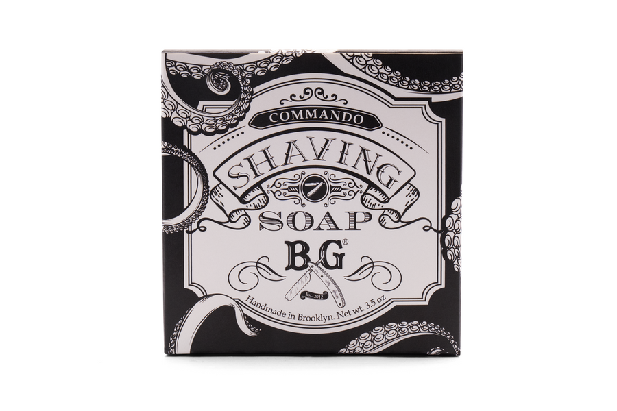 Brooklyn Grooming Commando Shaving Soap