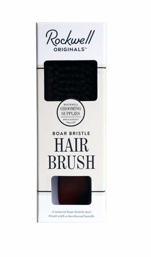 Rockwell Originals Boar Bristle Hair Brush