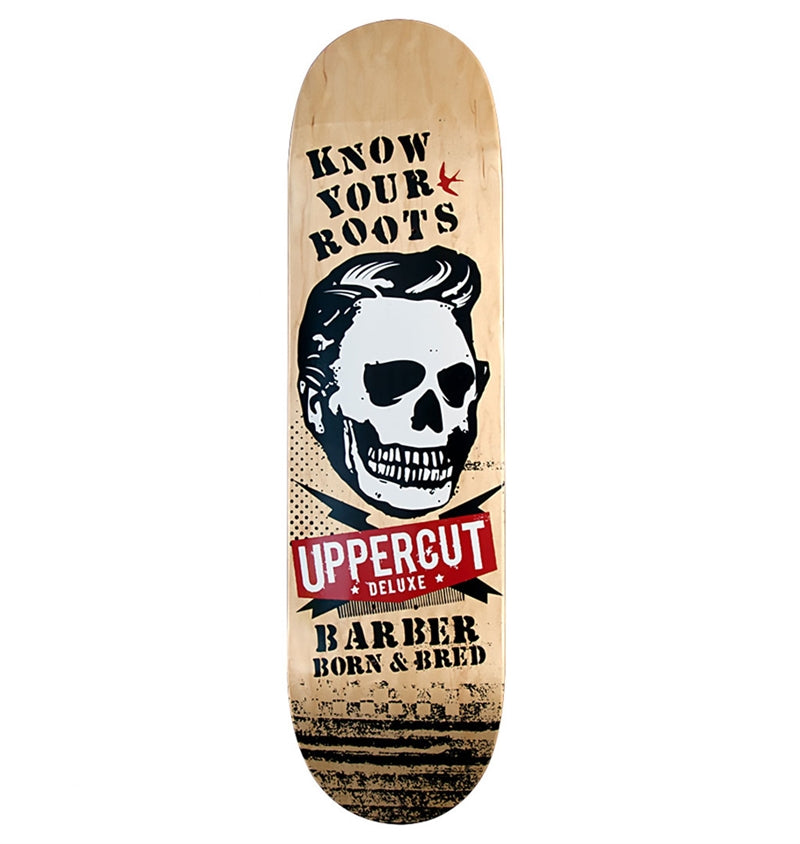 Uppercut Deluxe Know Your Roots Barbershop Deck