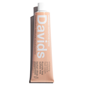 Davids Natural Toothpaste HERBAL CITRUS PEPPERMINT