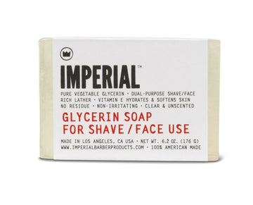 Imperial Glycerin Shave Soap Bar