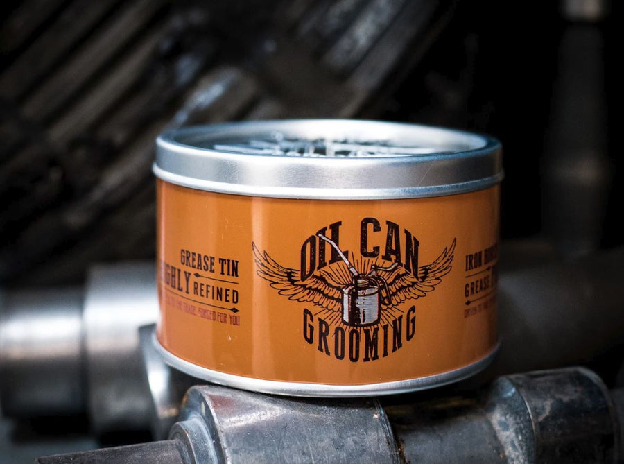 Oil Can Grooming Grease Pomade - 100ML