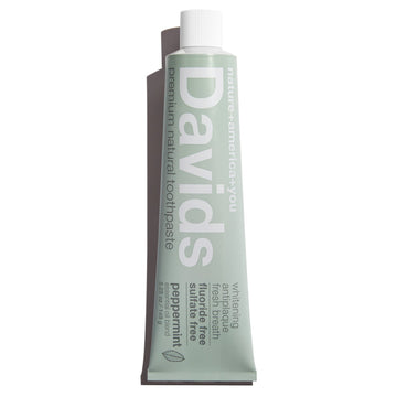 Davids Natural Toothpaste PEPPERMINT