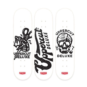 Uppercut Deluxe Stay Bold Skateboard Collector Series Set