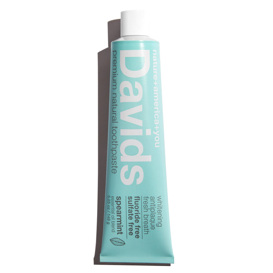 Davids Natural Toothpaste SPEARMINT
