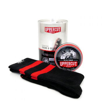 Uppercut Deluxe Socks & Deluxe Pomade Tin