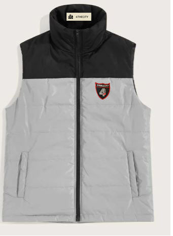 4TC Black and grey Vest