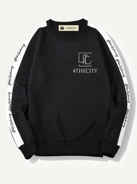4TC Black & White Long Sleeve Shirt