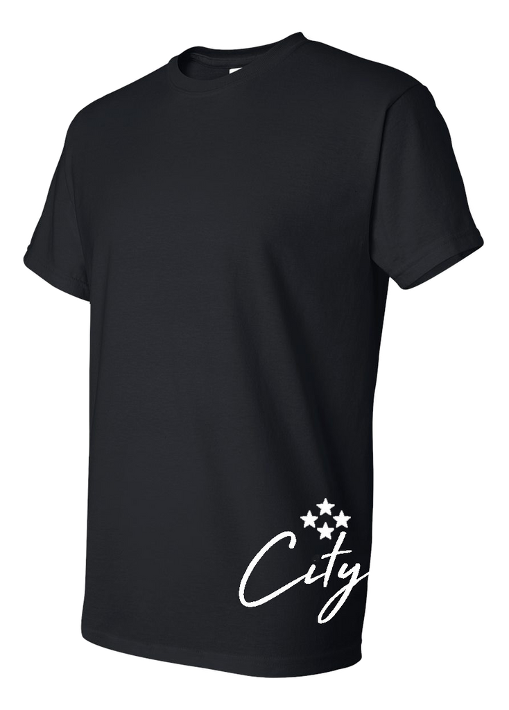 4TC Black T-Shirt