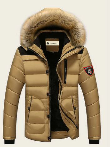 "4TC "" Golden Fur "" Puffer Coat"