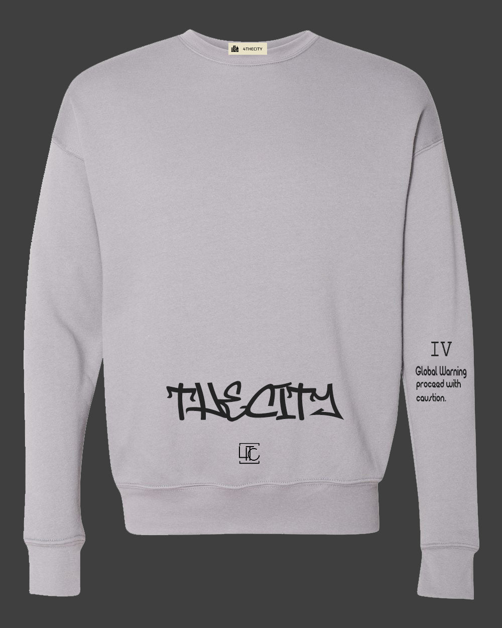 "4TC ""The City"" Grey Long sleeve"