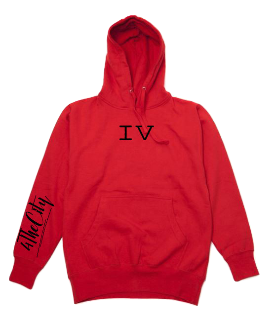 Red 4TC Jogging suit