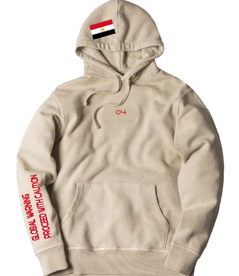 "4TC Tan ""Egypt Coat of Arms"" Hoodie"