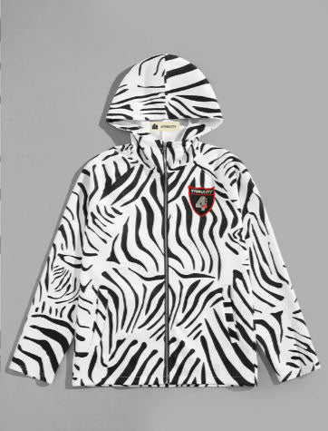 "4TC ""Zone 4"" Animal Mens Zip Up"