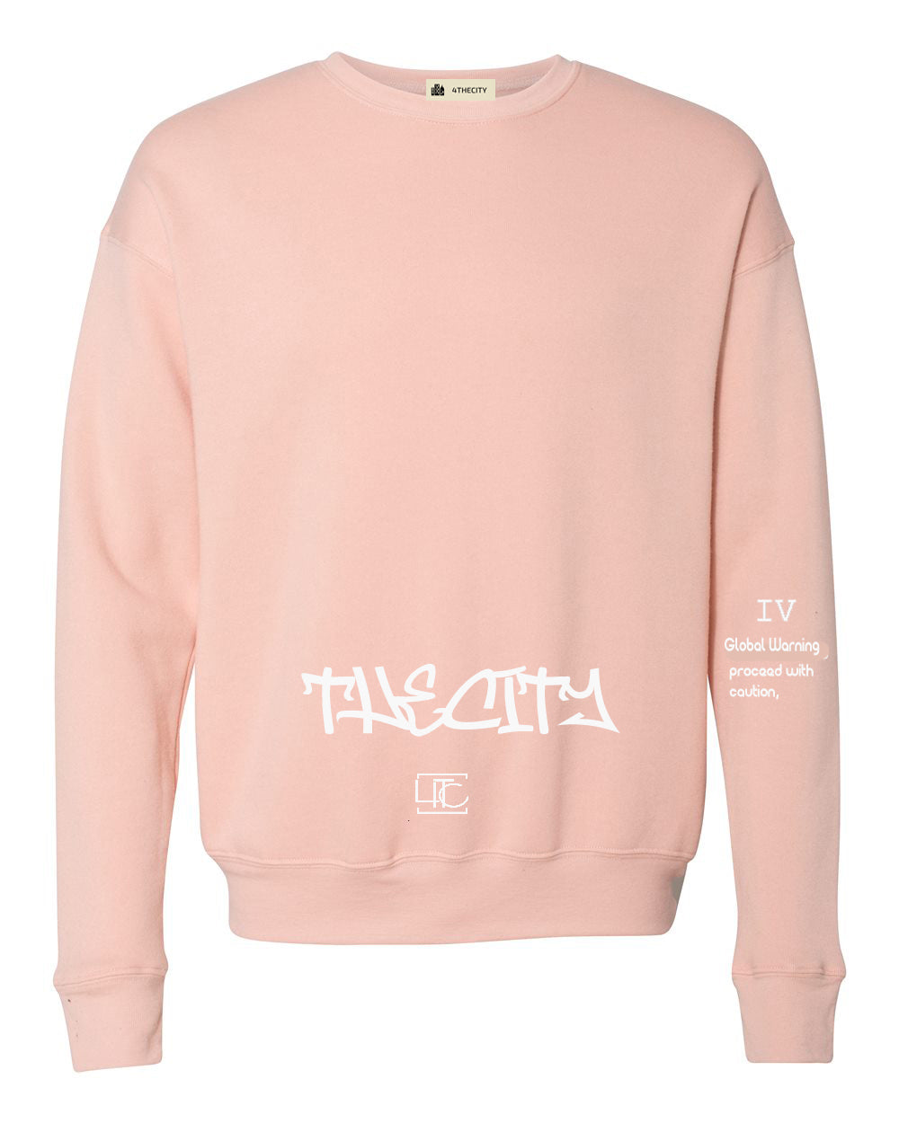 "4TC ""The City"" Peach Long sleeve"