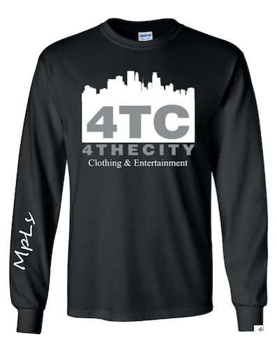 4TC Intro Black Long Sleeve