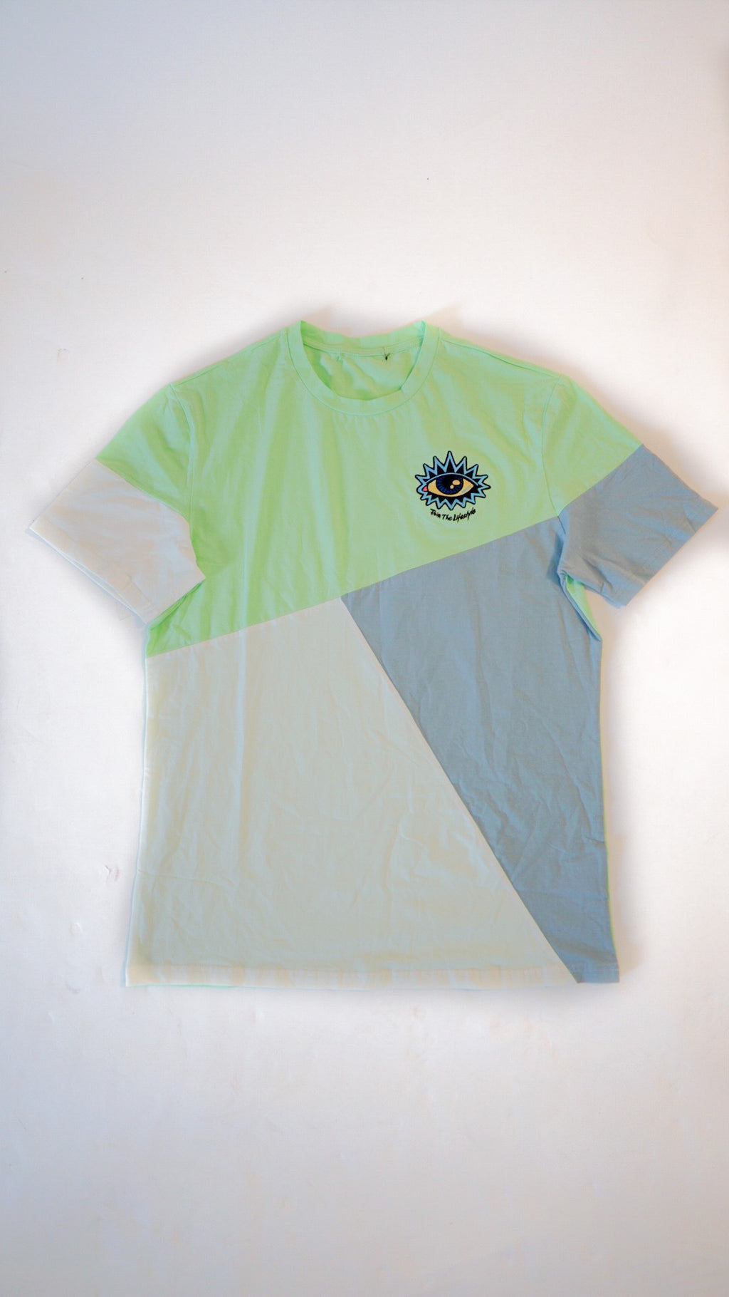 4TC Light blue & Mint T-shirt