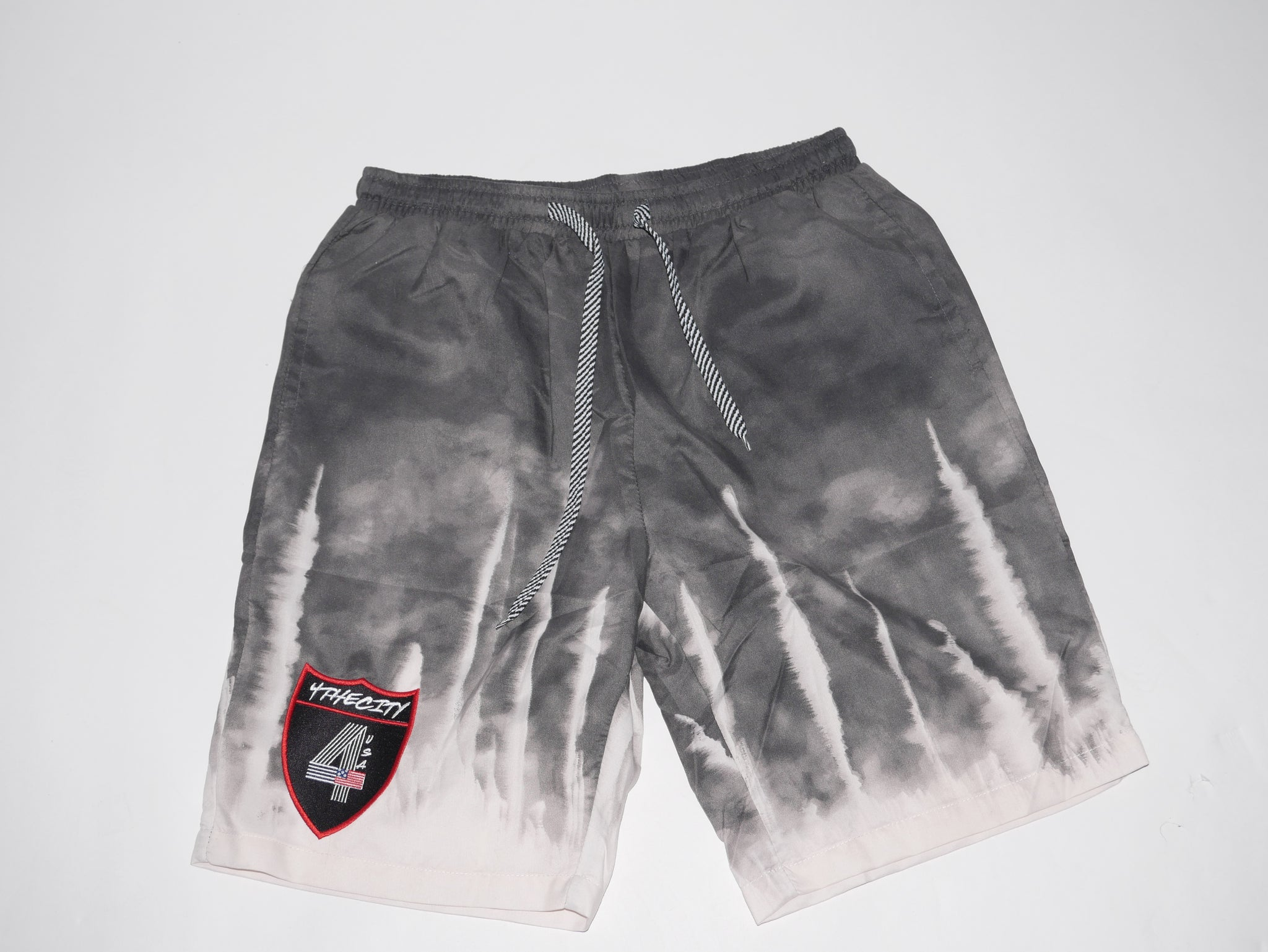 4TC GREY & OffWhite shorts