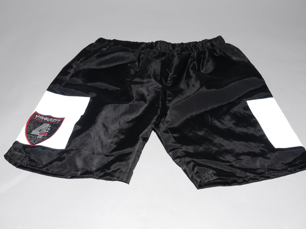 4TC Black & Silver Reflective Shorts