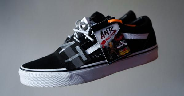 4TC x ANTZ Year 2 Ceremony Custom Vans