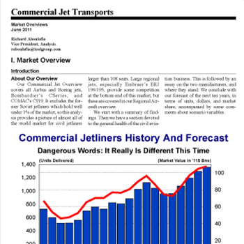 Market Overview: Commercial Jet Transports