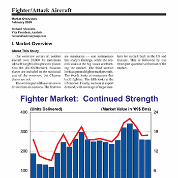 Market Overview: Fighter/Attack Aircraft