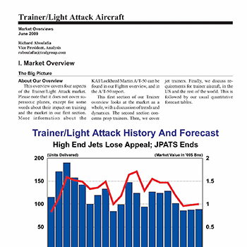 Market Overview: Trainer/Light Attack Aircraft